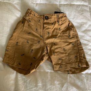 H&M Super Cute Pineapple Shorts